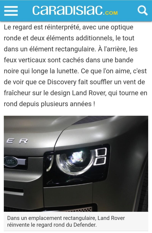 2018 - [Land Rover] Defender [L663] - Page 14 20190913