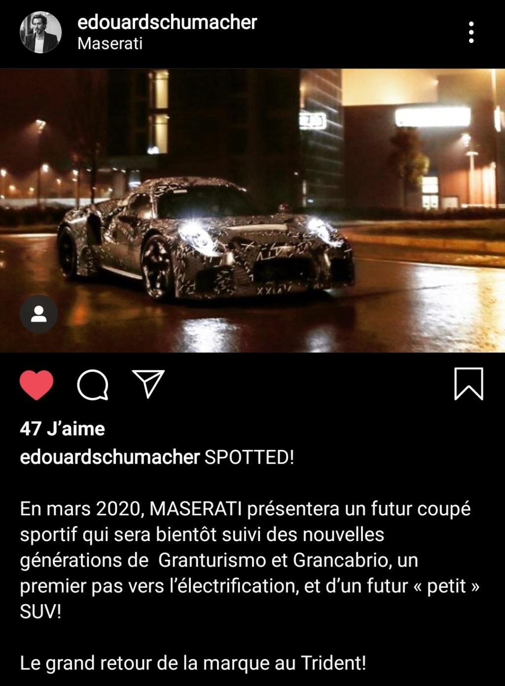 2020 - [Maserati] MC20 Screen10