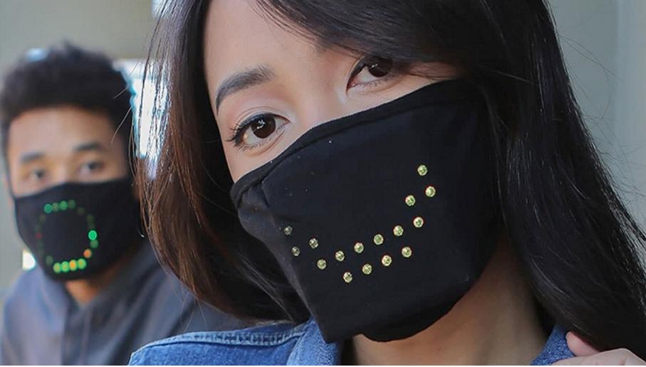 Светодиодная защитная маска от коронавируса JabberMask _u_218
