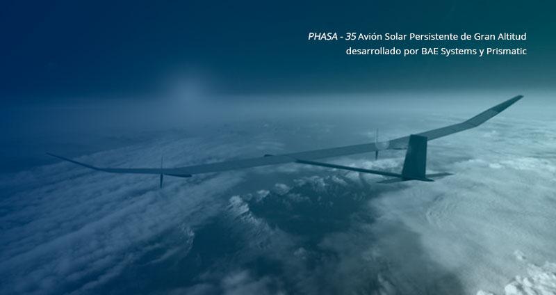 Самолет на солнечных батареях от BAE Systems. Великобритания и Австралия A12