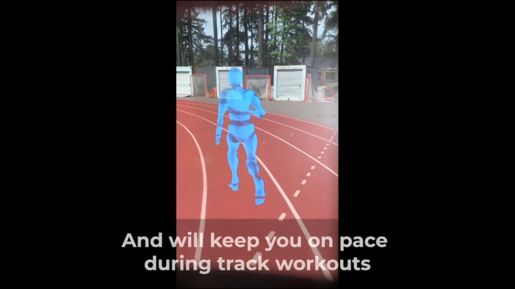 Виртуальный спутник для бега Ghost Pacer A15