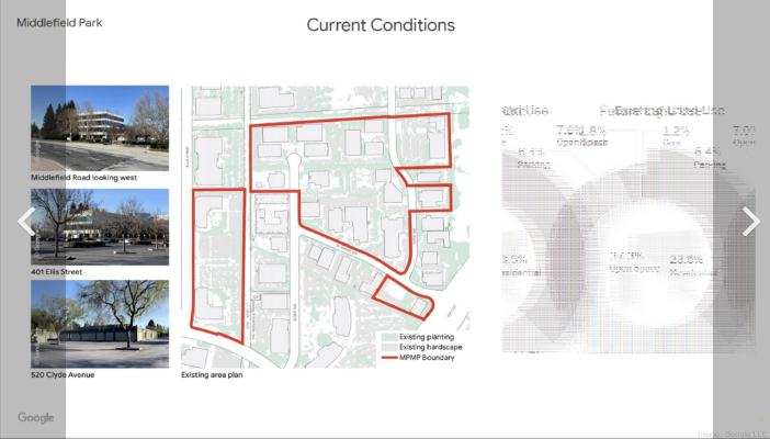 Middlefield Park - город для сотрудников. Google. США A16