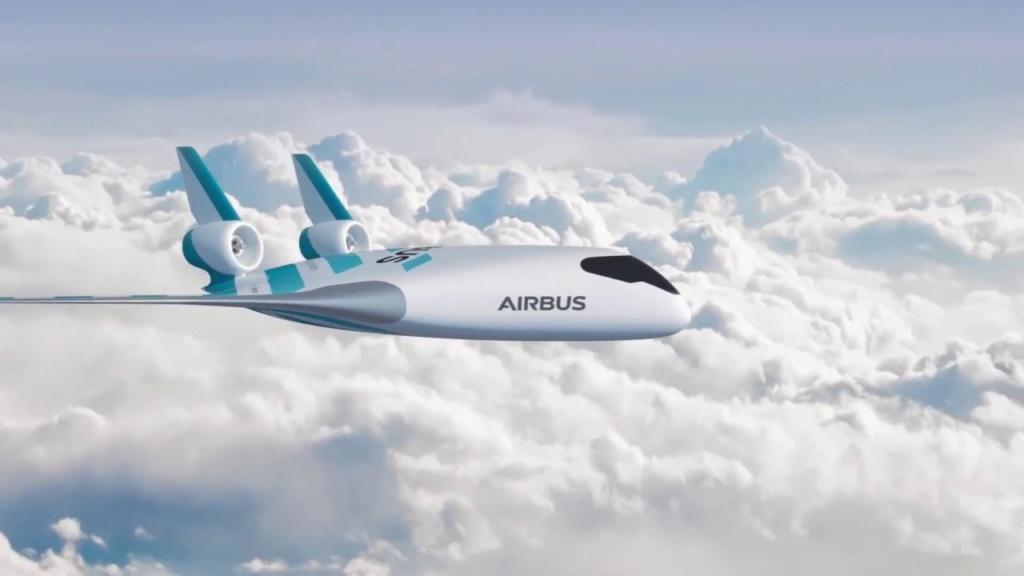 Самолет будущего Maveric от Airbus Aa12