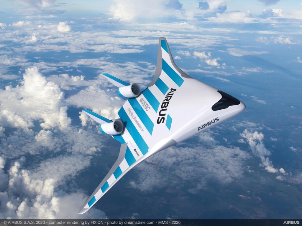 Самолет будущего Maveric от Airbus Aa13