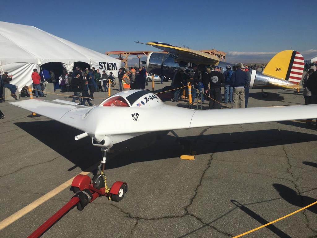 Секретный беспилотный самолет X-44A. США Aa26