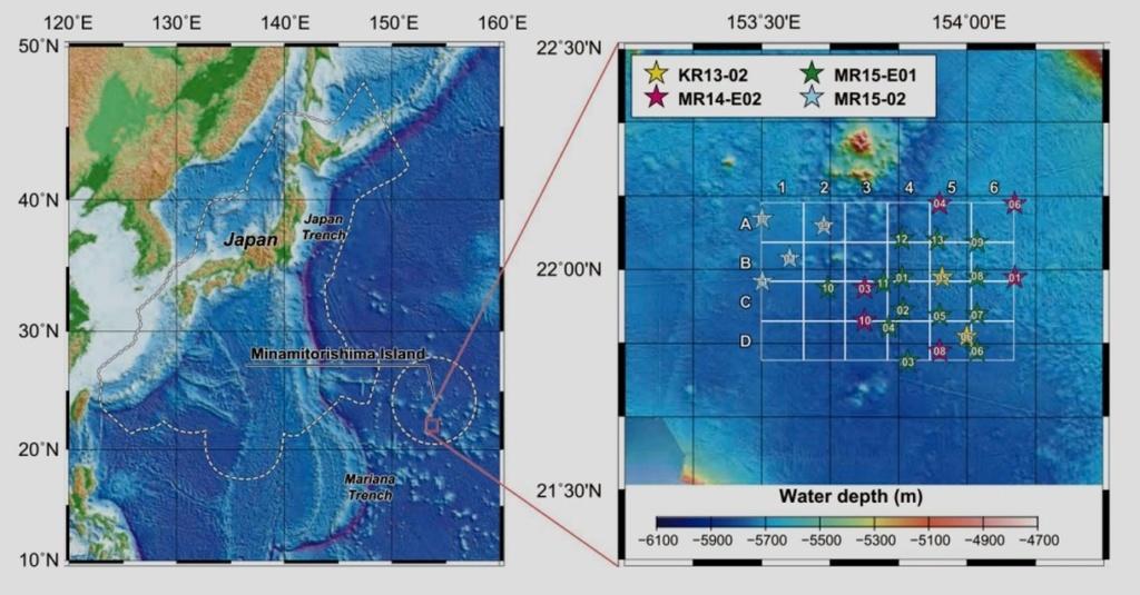 JAMSTEC добудет редкоземельные элементы из мантии Земли. Япония Aa36