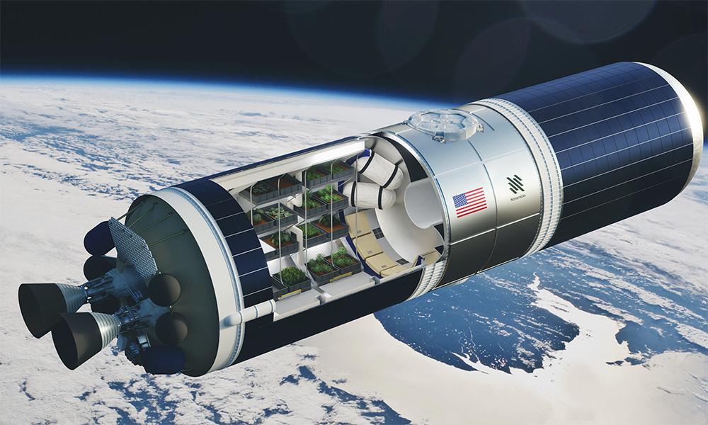 Теплица в космосе. Nanoracks, NASA. США Web-si10