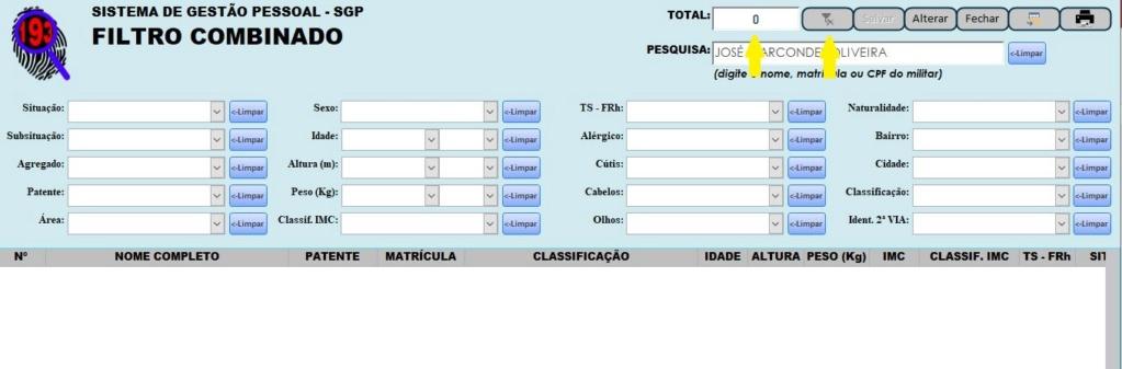 [Resolvido]Filtros Múltiplos em Cascata Utilizando Várias Caixas de Combinação 16-11-12
