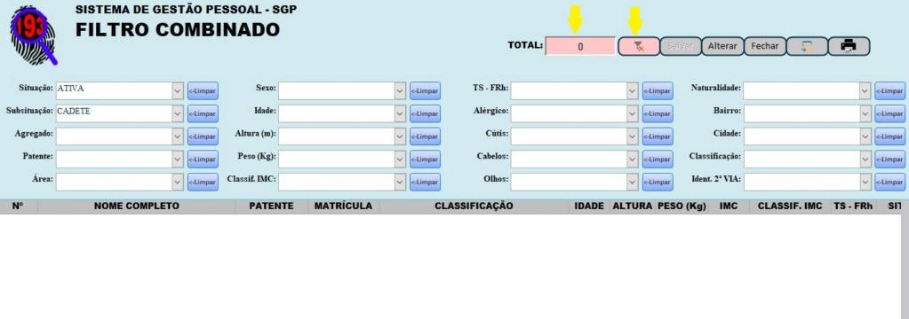 [Resolvido]Filtros Múltiplos em Cascata Utilizando Várias Caixas de Combinação 16-11-13
