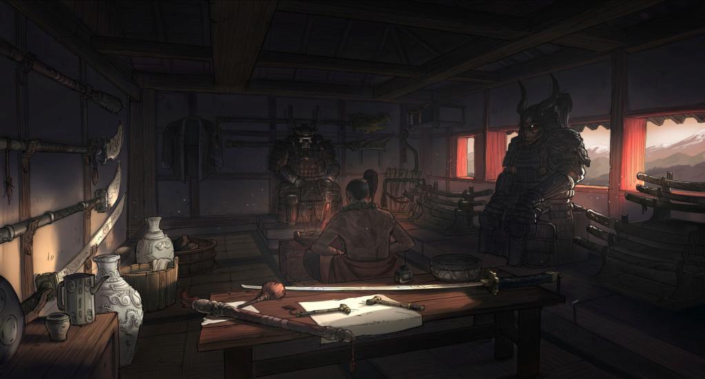 Hua Li   The Kijo Scriptures Room_610