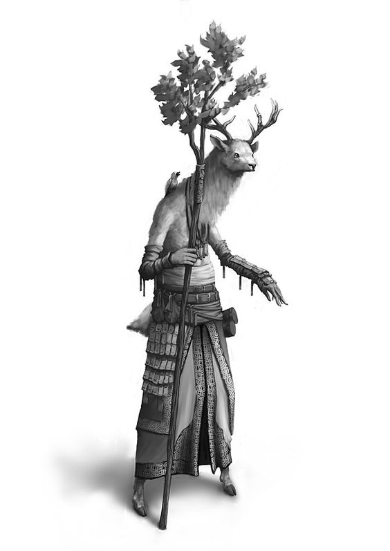 Un Cerf dans la Brume - Hokazuka Liuqin Mamits15
