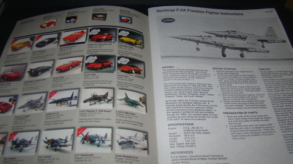 [Testors] Northrop Freedom Fighter F-5A 1/48 Armee de l'Air Greque Dsc08117