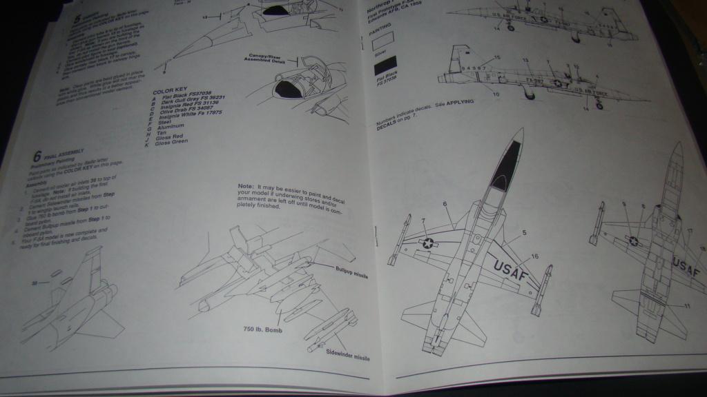 [Testors] Northrop Freedom Fighter F-5A 1/48 Armee de l'Air Greque Dsc08119