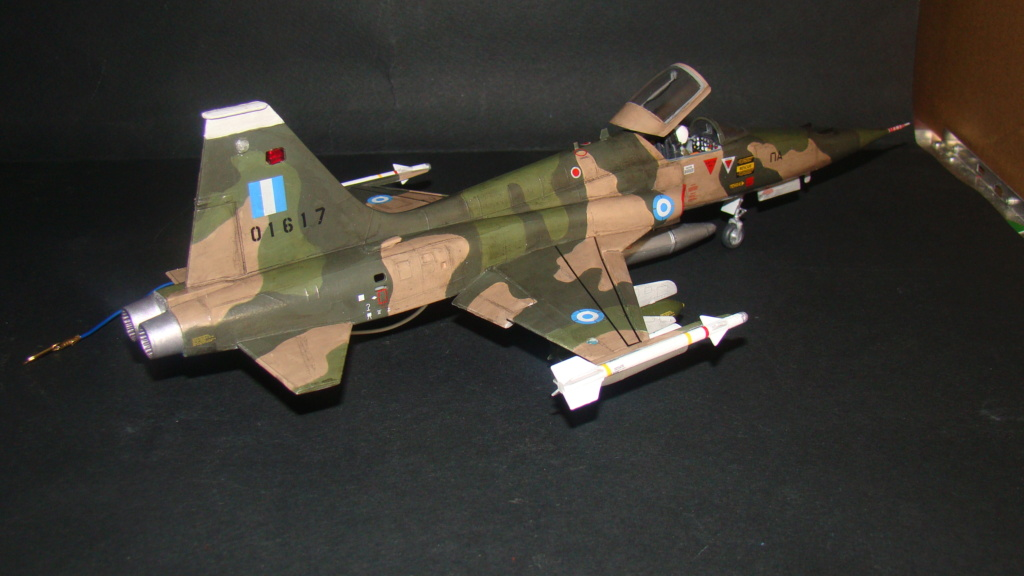 [Testors] Northrop Freedom Fighter F-5A 1/48 Armee de l'Air Greque Dsc08136