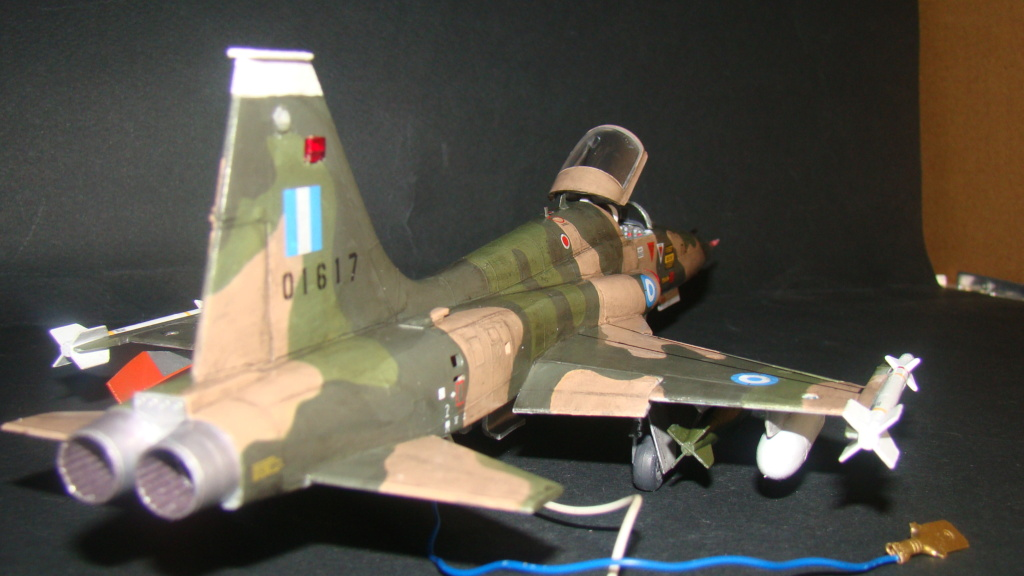 [Testors] Northrop Freedom Fighter F-5A 1/48 Armee de l'Air Greque Dsc08144