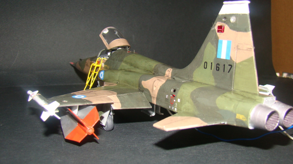 [Testors] Northrop Freedom Fighter F-5A 1/48 Armee de l'Air Greque Dsc08145