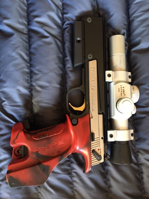 SOLD:  Hammerli Trailside -- No Scope:  $1100  (CA)  + 3 magazines Img_2211