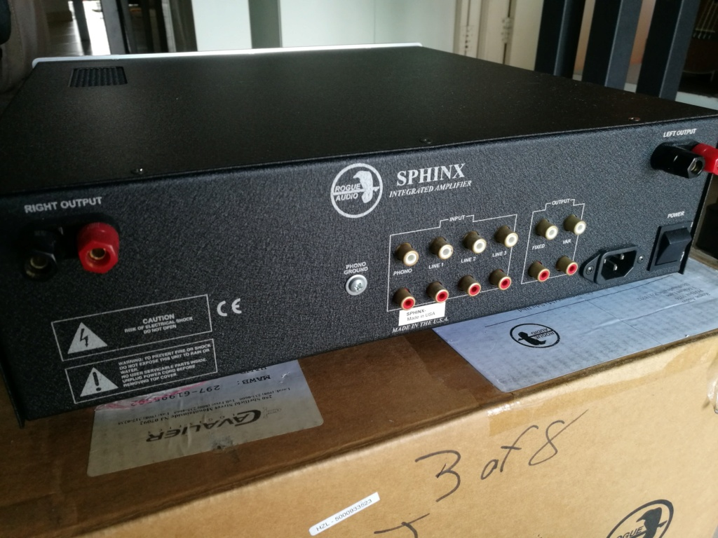 Rogue Audio Sphinx V2 Hybrid Integrated Amplifier (Used) Img_2011