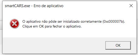 Erro 0XC00007B A_e0ab10