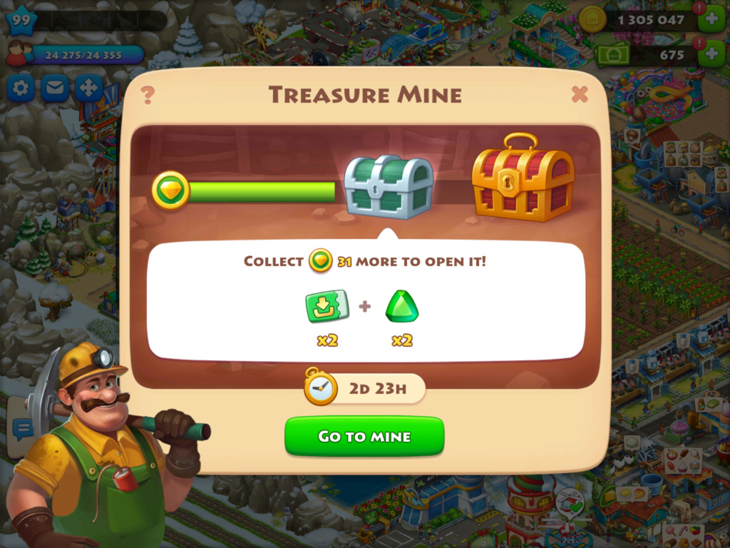 Treasure Mine Event 69410d10