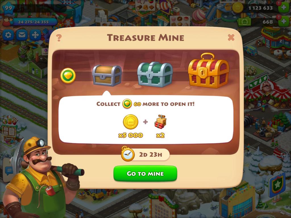 Treasure Mine Event A7483210