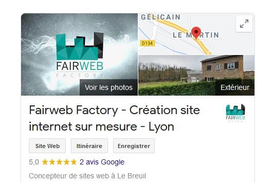 FairWeb Factory - mon site professionnel Screen10