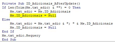 Caixa de Texto recebe todos os produtos selecionados em uma Caixa de Combinação Captur12