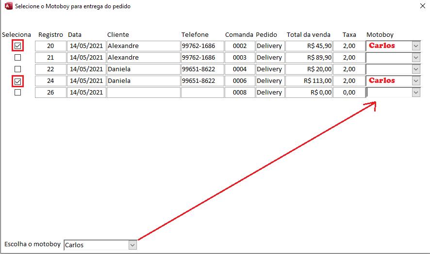 [Resolvido]Atualizar campos da tabela com critério Img11