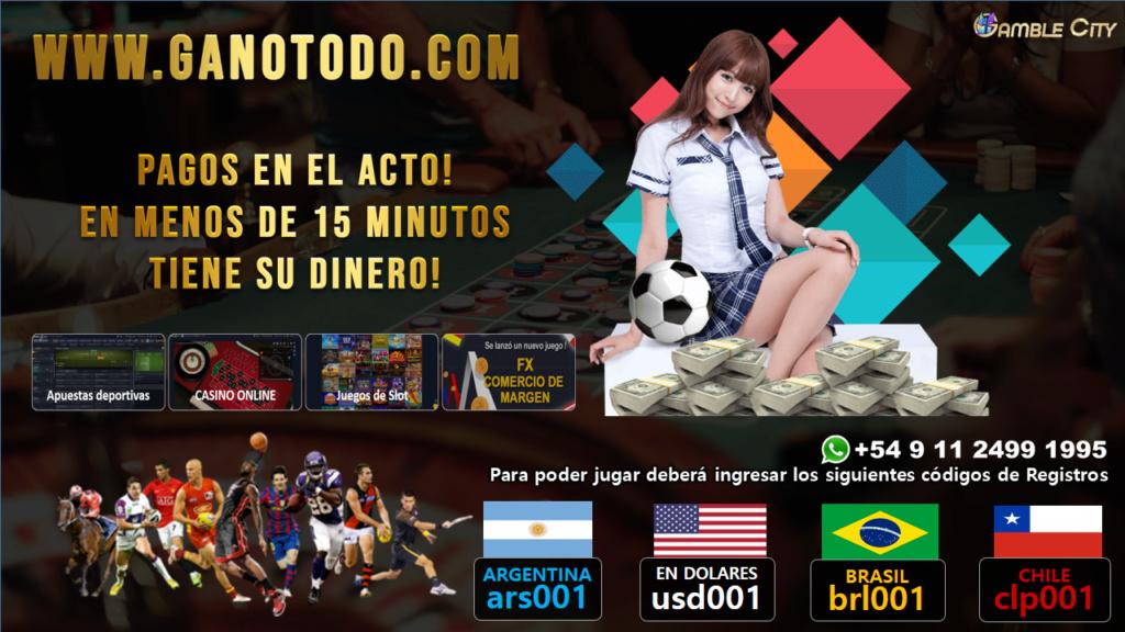 Las mejores APUESTAS DEPORTIVAS de Argentina Oys4110