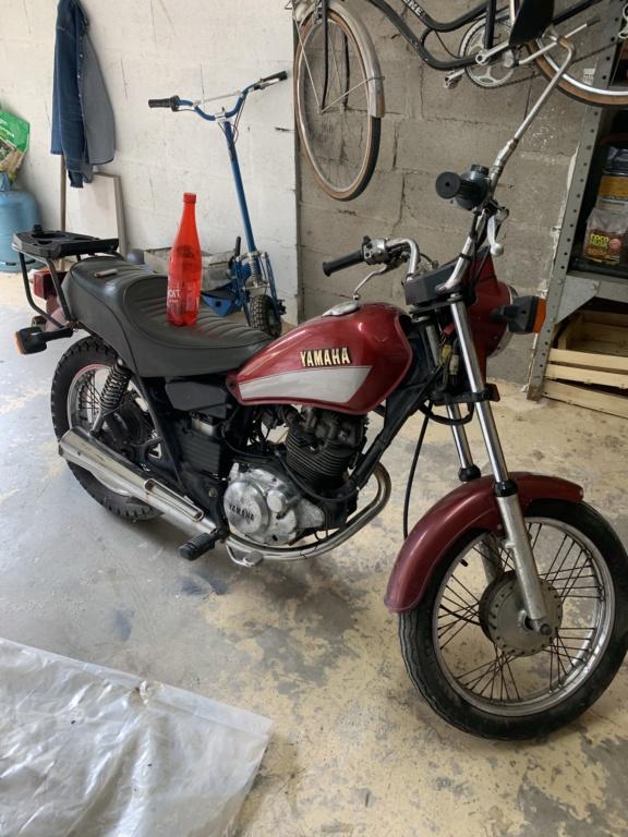 Yamaha 125 SR 1991 38000KM Img_2010