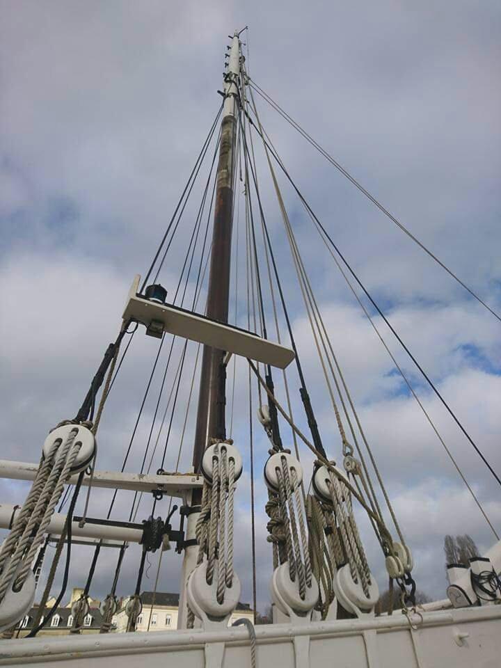 3-Mâts barque Pourquoi Pas? 1908 - 2) Gréement (Billing Boats 1/75°) par Yves31 - Page 21 2021-062
