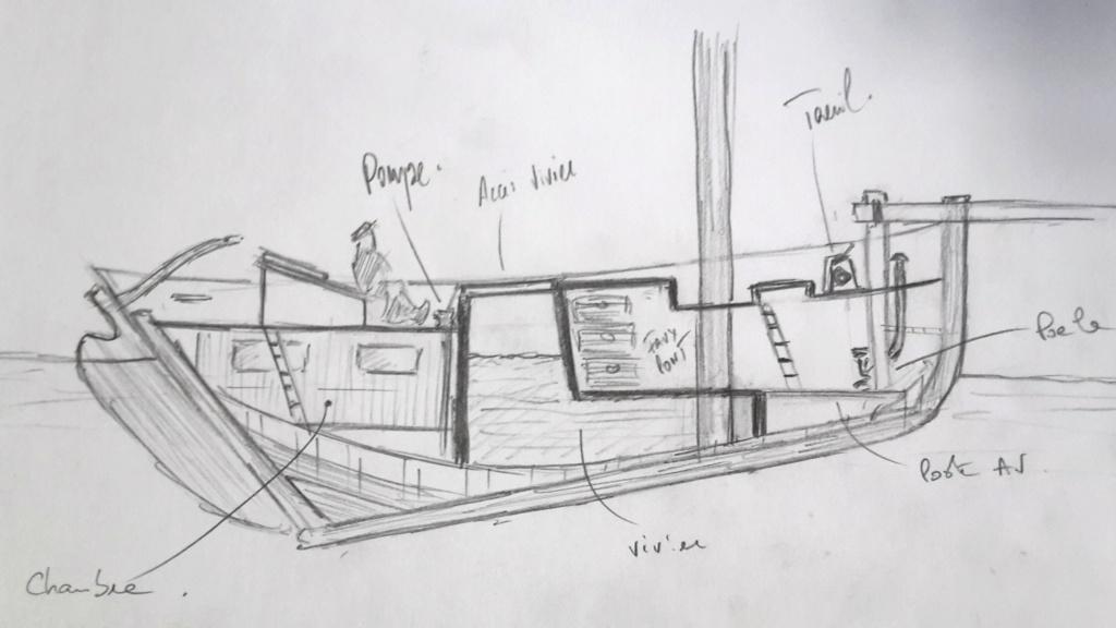 Cotre langoustier (Plan Musée Concarneau 1/25°)  par Yoann gui - Page 4 2021-075