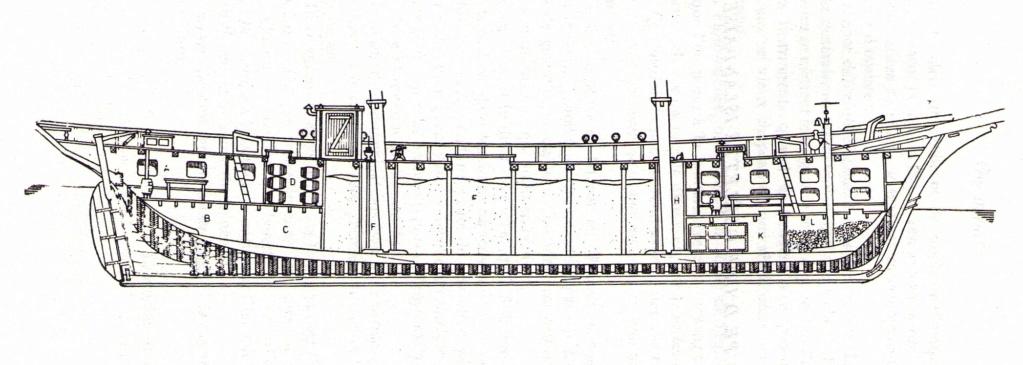 Cotre langoustier (Plan Musée Concarneau 1/25°)  par Yoann gui - Page 3 Coupe-10