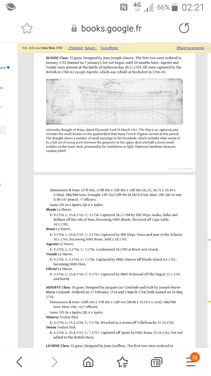 Frégate La Flore dite américaine  - Page 2 Screen39
