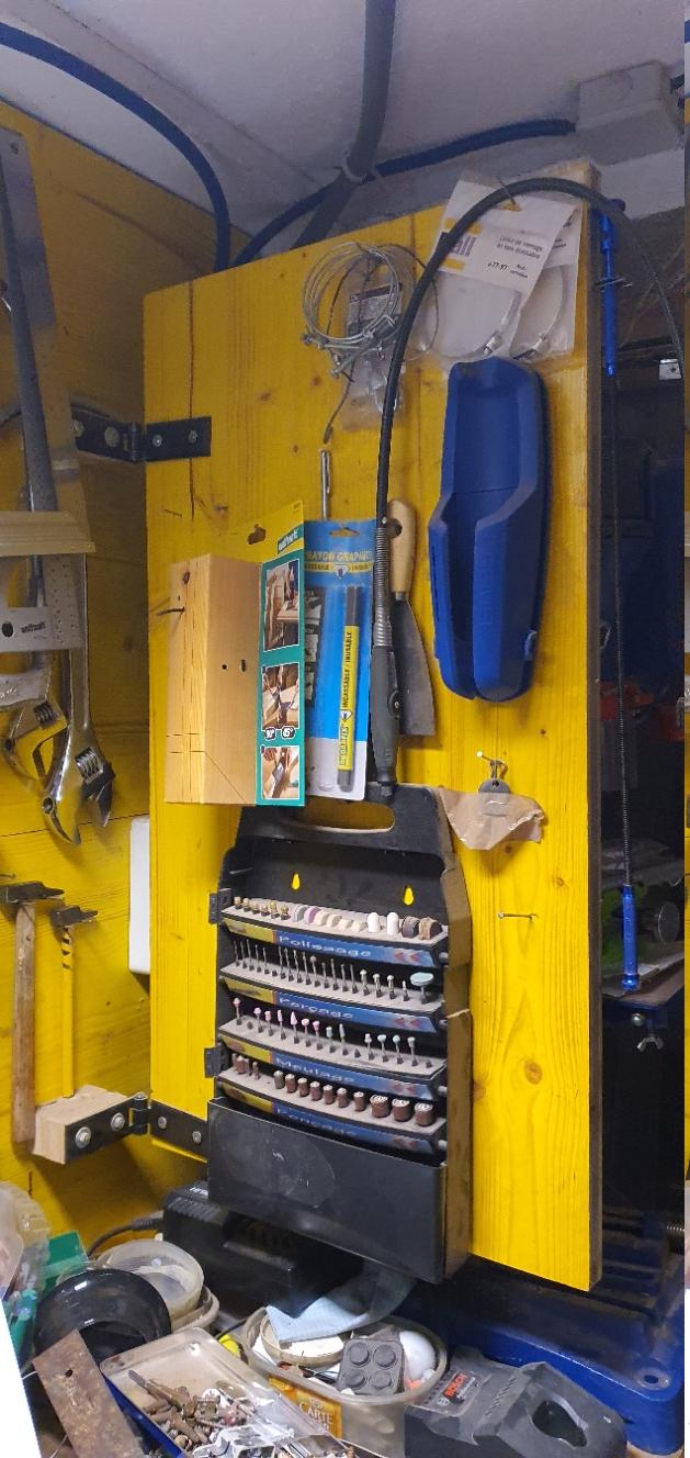 panneaux coulissants d'atelier pour outillage 20210211