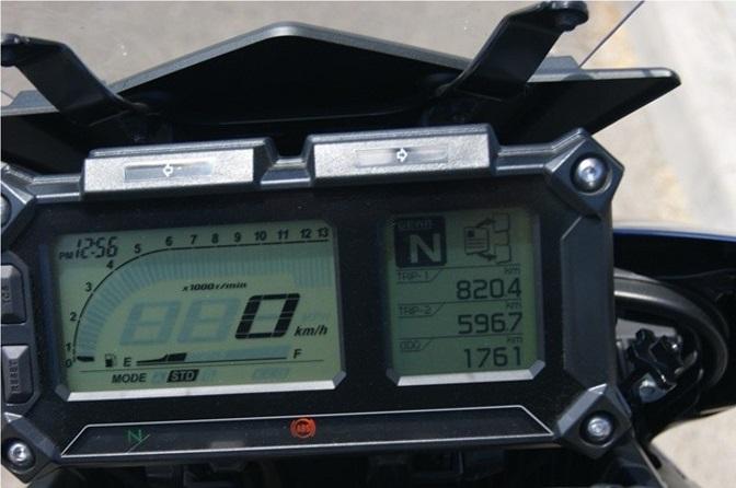 Modification couleur de fond d'écran du compteur du Tracer Compte12