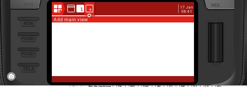 Script LUA pour Radio écran couleur X12-X10-TX16S Captur16