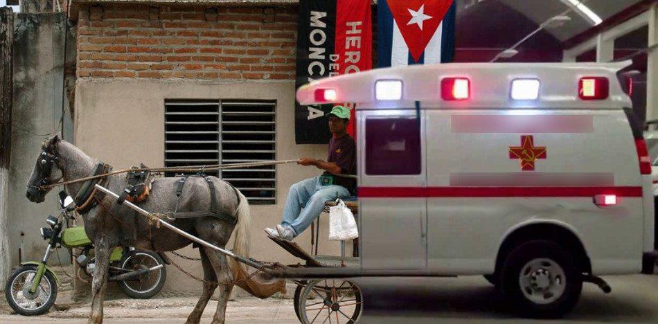Estallido social en Cuba Ambula10