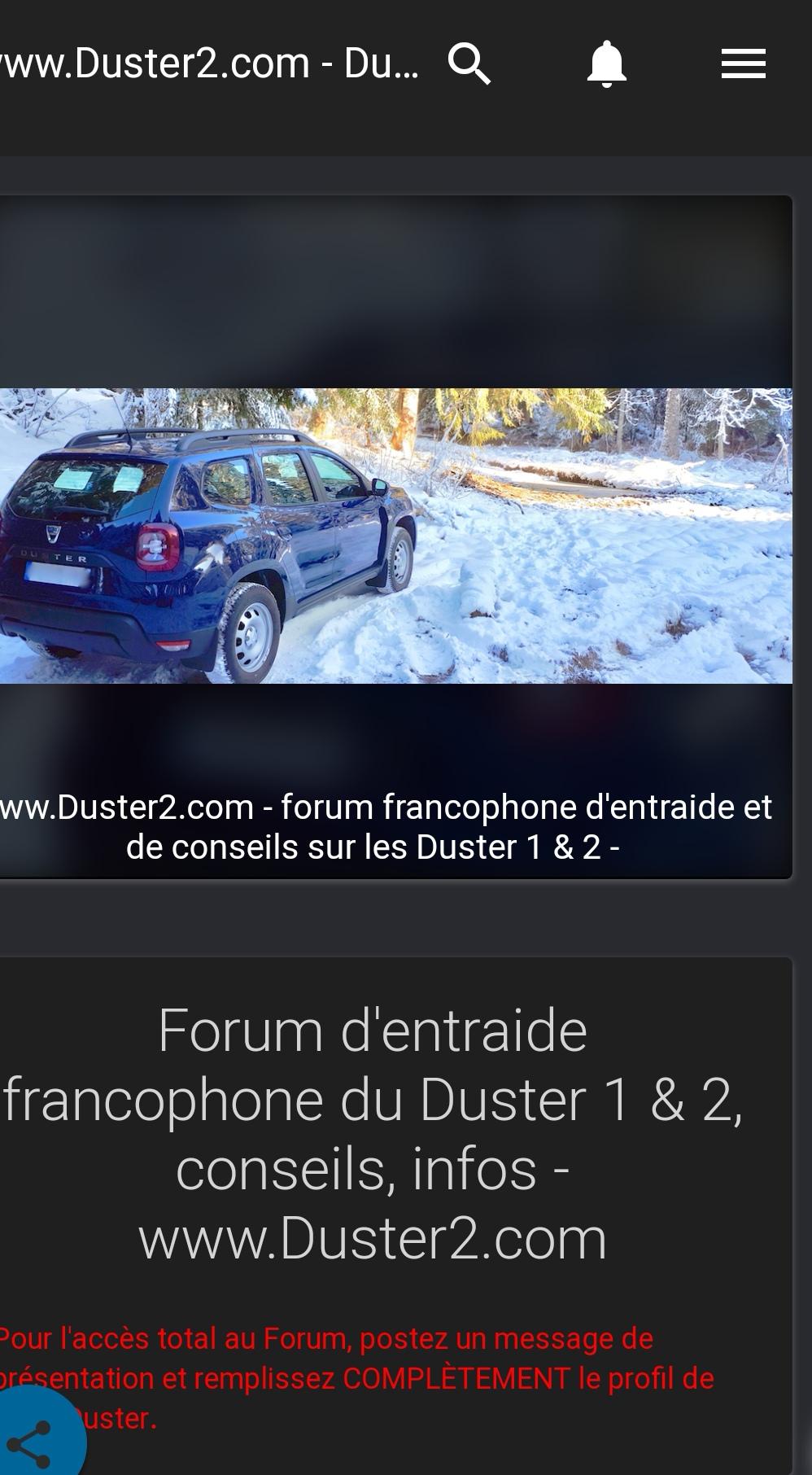 Photo du forum version mobile Screen15