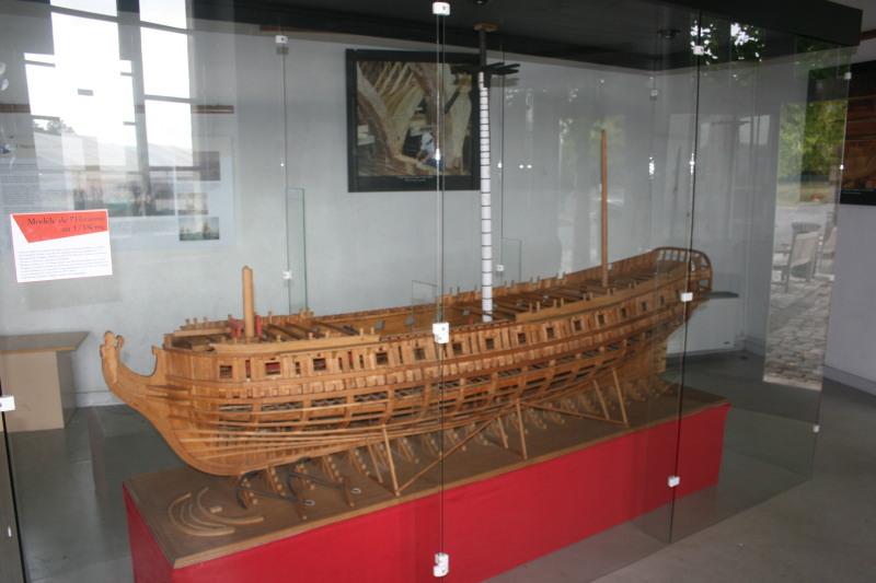 Reconstruction du navire de La Fayette . Altafu17