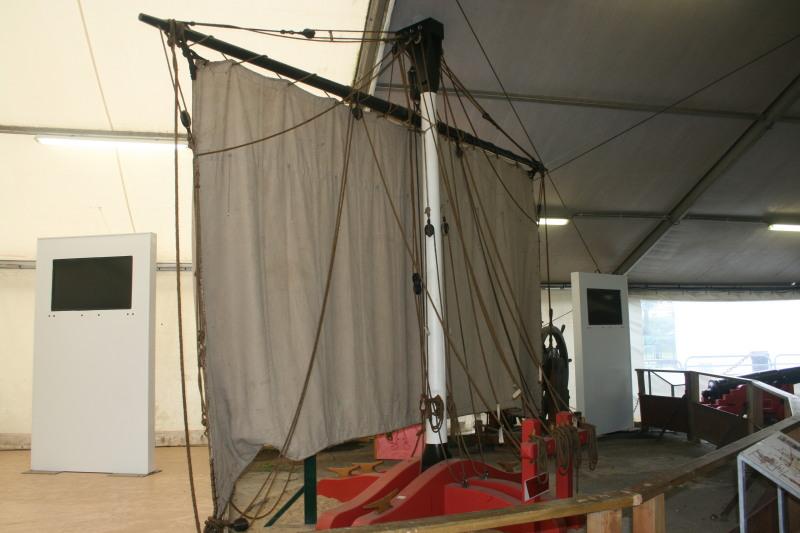 Reconstruction du navire de La Fayette . Altafu21
