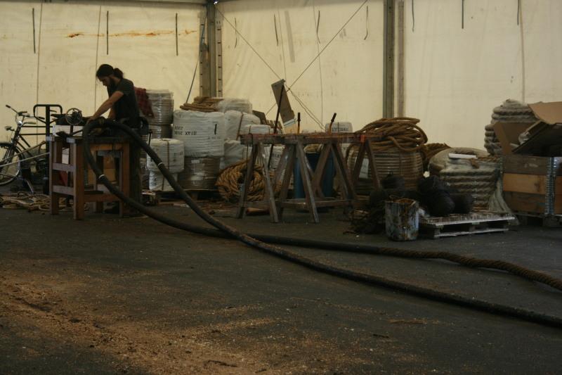 Reconstruction du navire de La Fayette . Altafu24