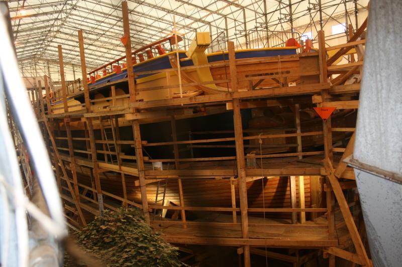 Reconstruction du navire de La Fayette . Altafu30