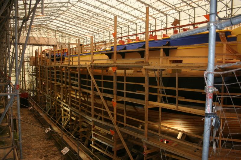 Reconstruction du navire de La Fayette . Altafu32