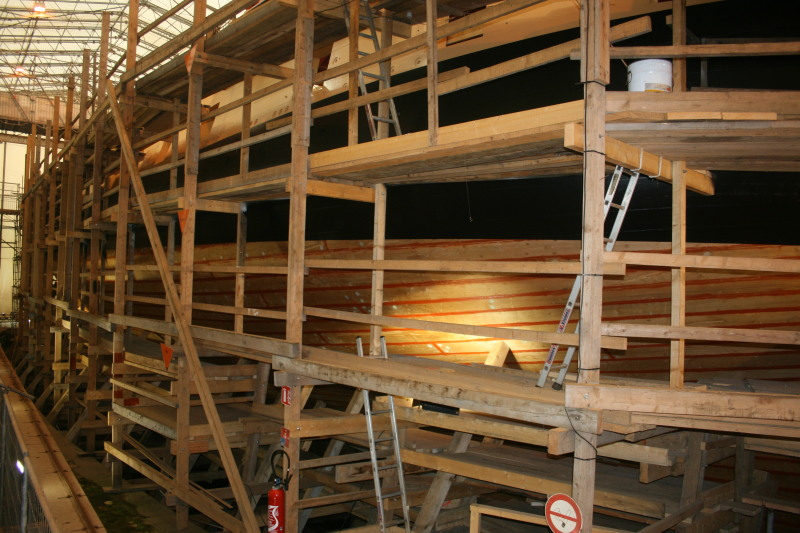 Reconstruction du navire de La Fayette . Altafu33