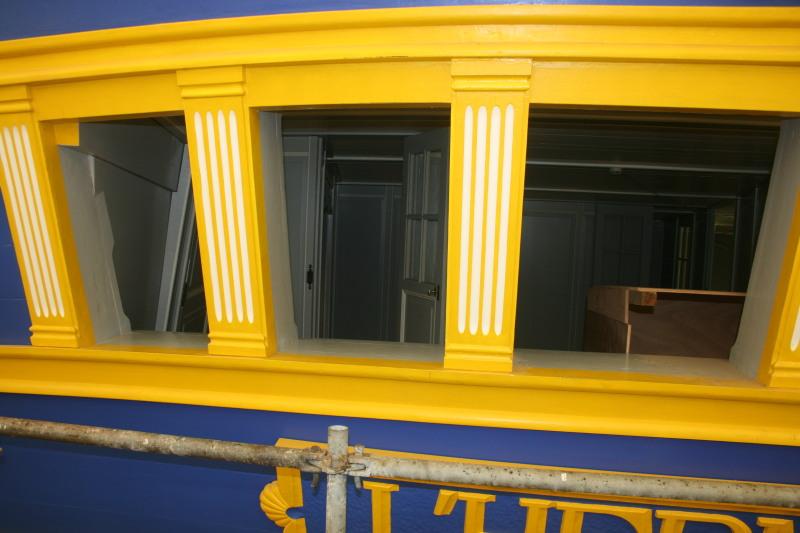 Reconstruction du navire de La Fayette . Altafu35
