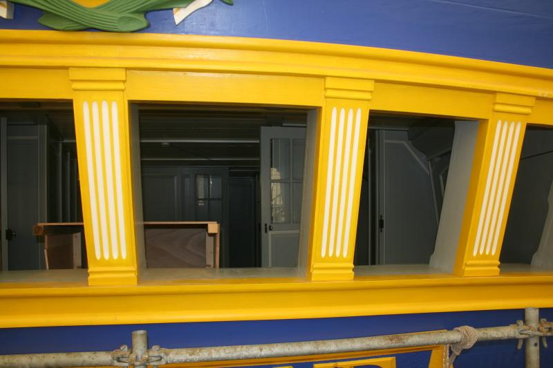 Reconstruction du navire de La Fayette . Altafu36