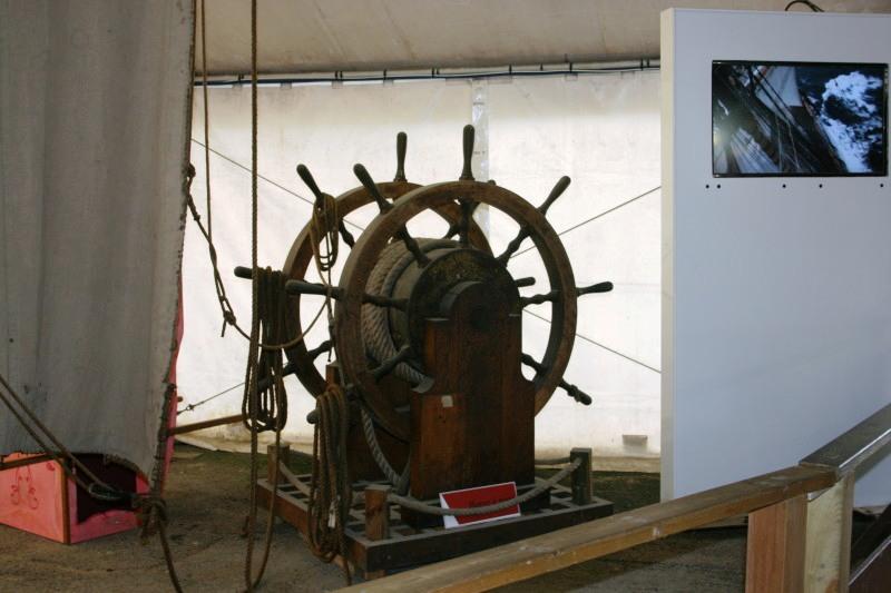 Reconstruction du navire de La Fayette . Altafu52
