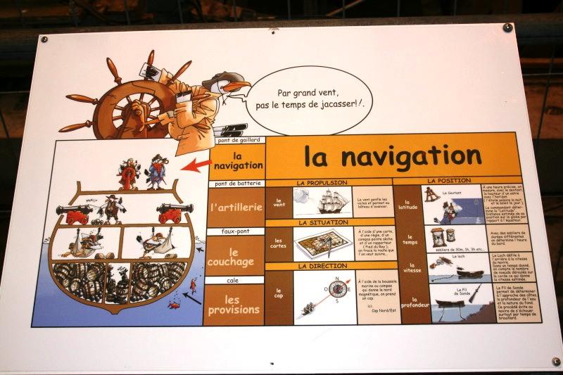 Reconstruction du navire de La Fayette . Altafu56