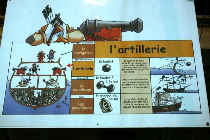 Reconstruction du navire de La Fayette . Altafu57